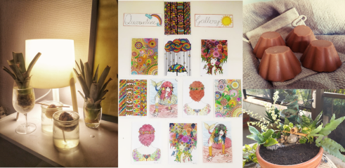 Hobbies collage